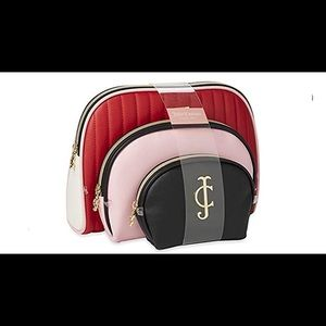 0855 Juicy Couture Cosmetic Makeup Bags: Compact